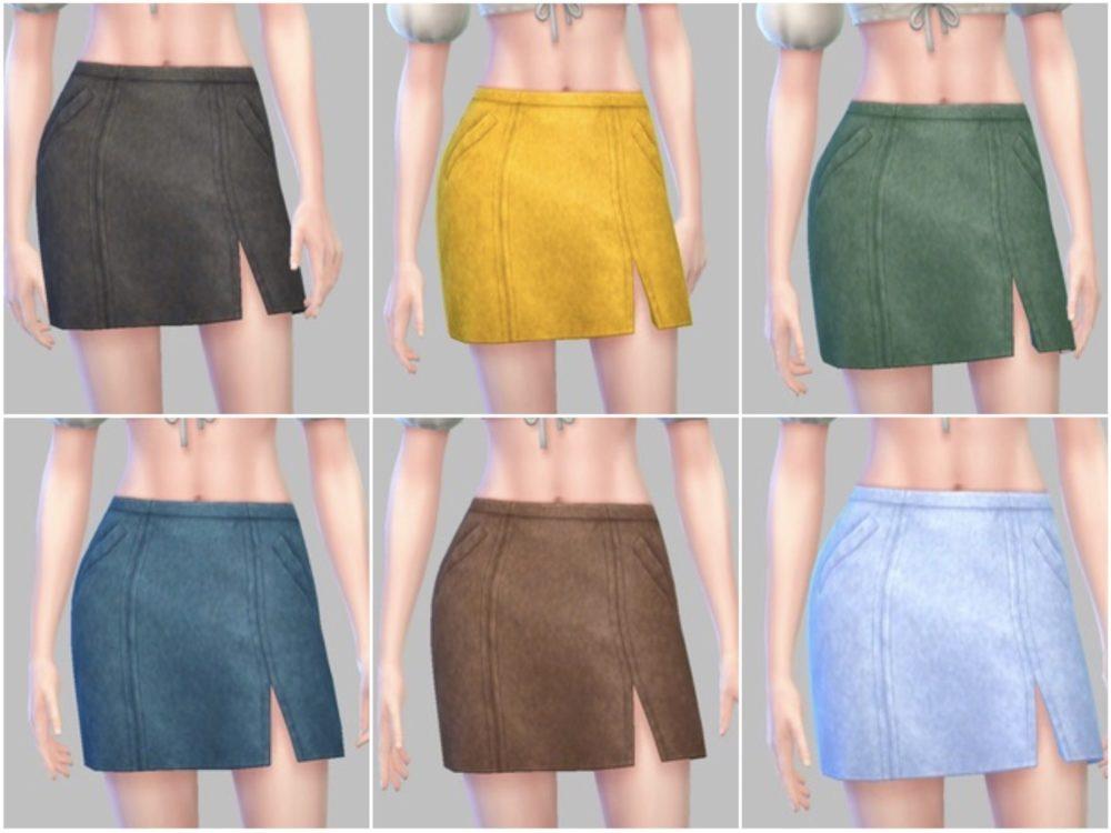 シムズ4_パラノーマルのミニスカート