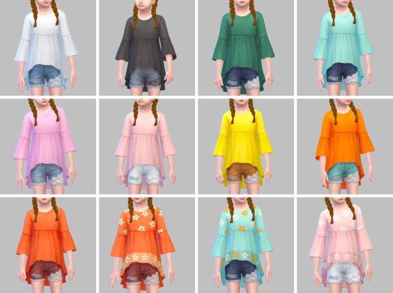 シムズ4_パラノーマルの子供服